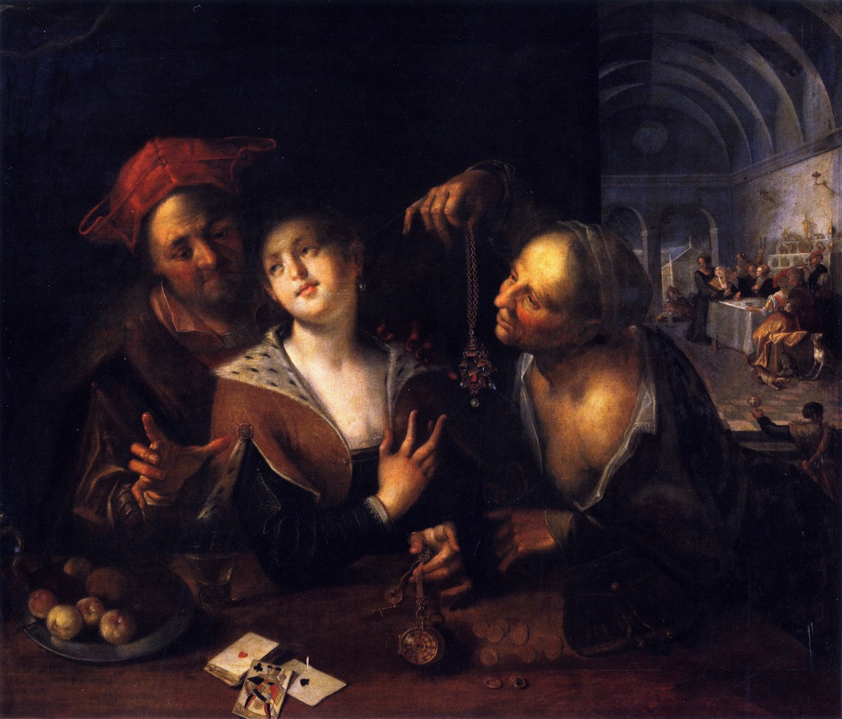 A Procuress with a Couple