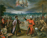 Allegory of the Turkish Wars The Declaration of War at Constantinople 1603 4