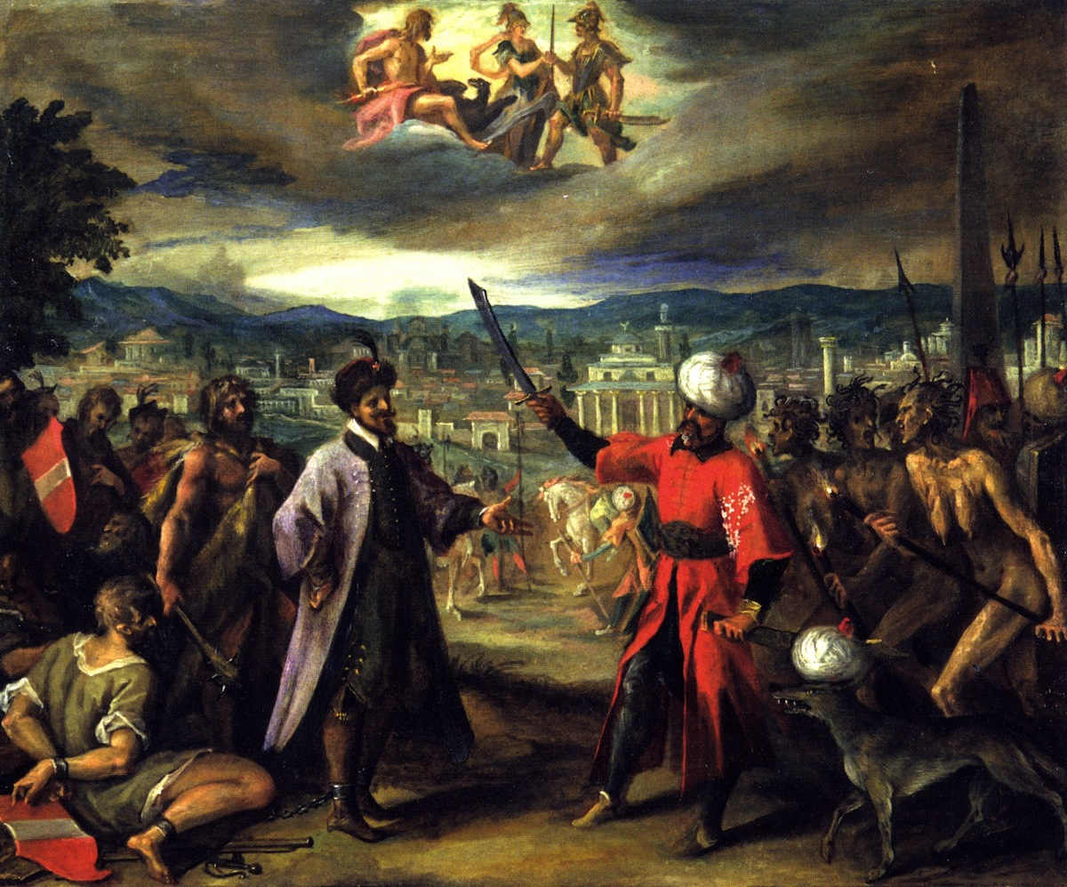 Allegory on the Declaration of the War of Constantinople