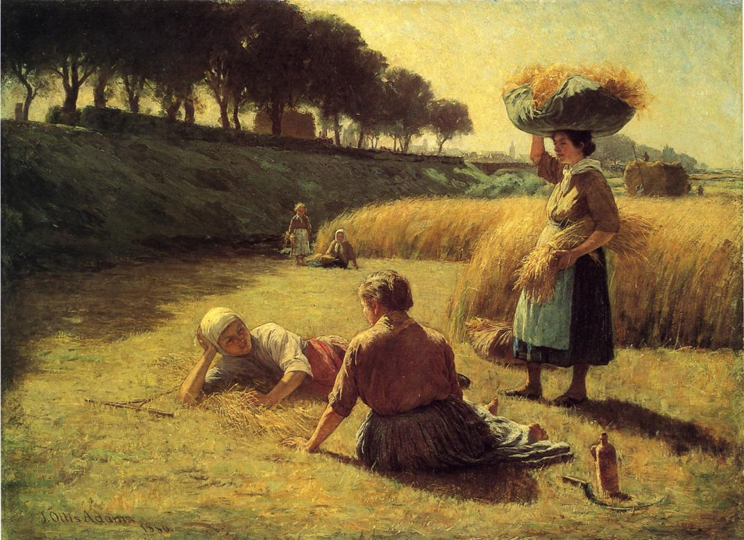 Gleaners-at-Rest-aka-Nooning-1886