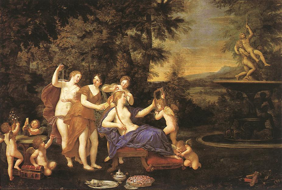 Venus Attended by Nymphs and Cupids