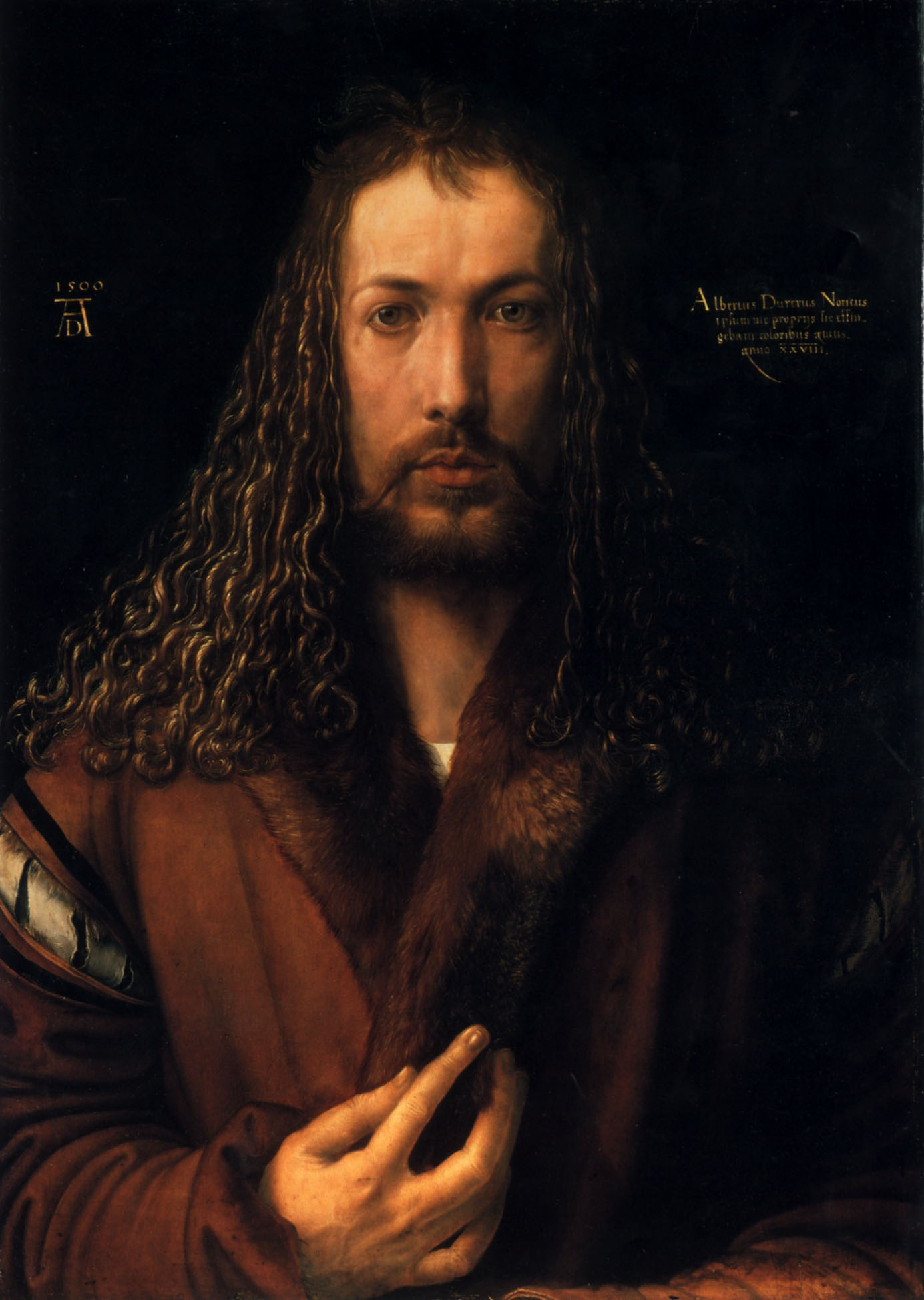 Self Portrait of Durer