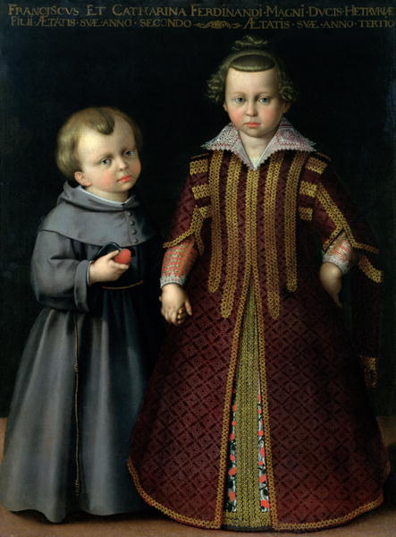 Francesco and Caterina de Medici