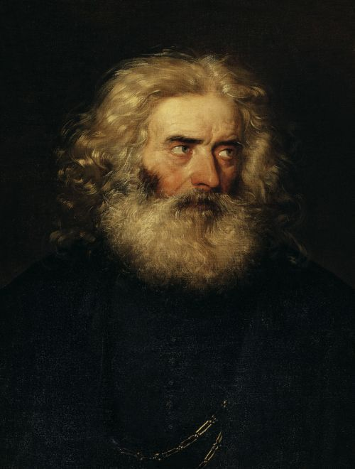 Study of a Head of a Bearded Man