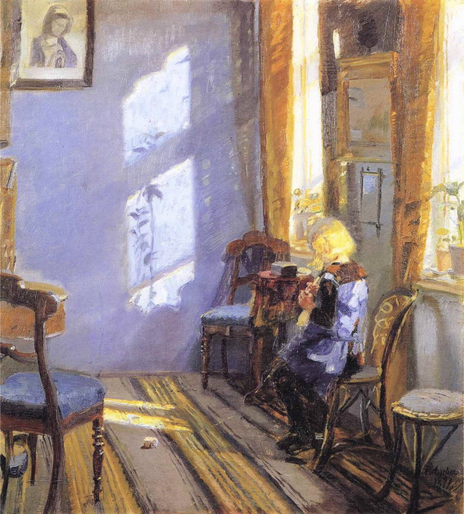 Anna Ancher Oil Painting Reproductions