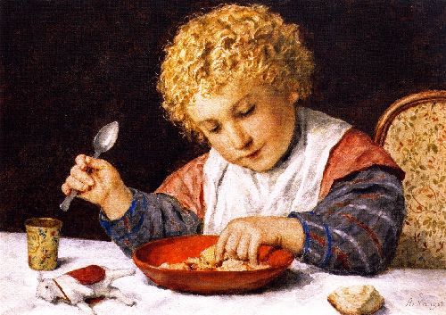 Child at a Table