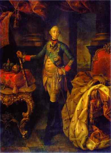 Portrait Of Emperor Peter III