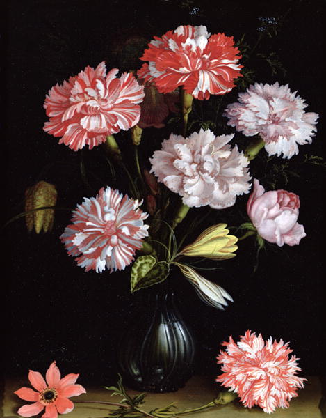 Floral Study Carnations in a Vase