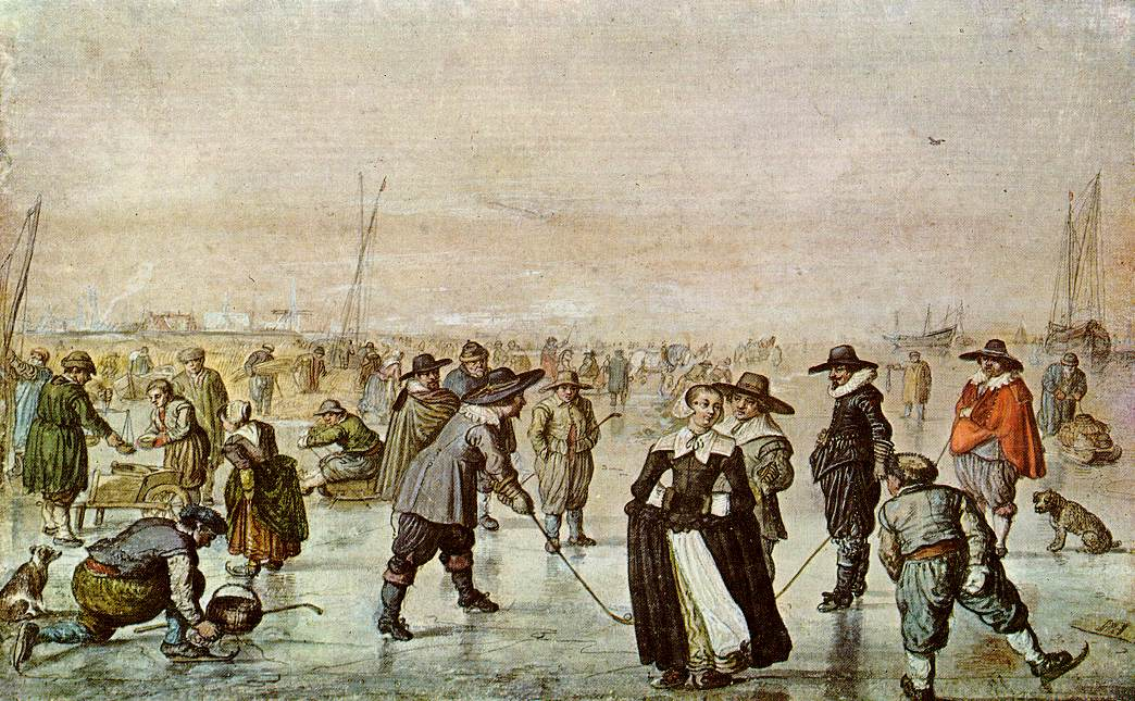 A Scene On The Ice b