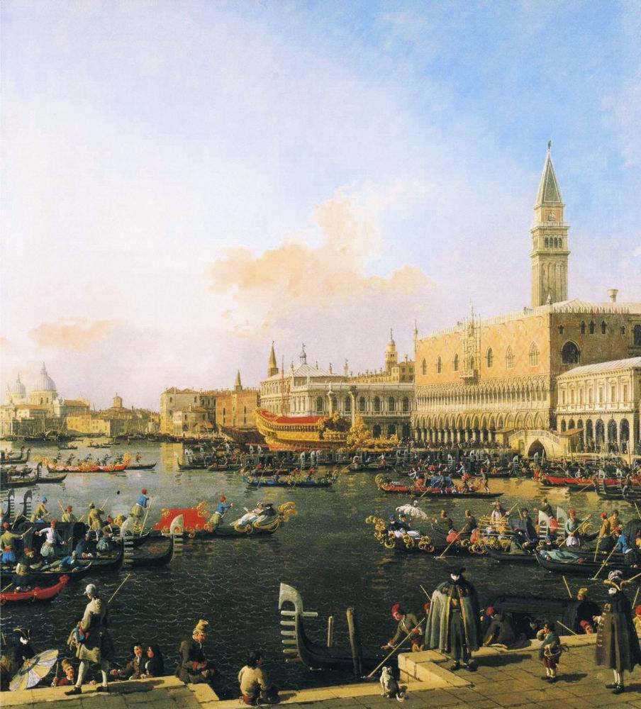 Bacino di San Marco on Ascension Day (1754)
