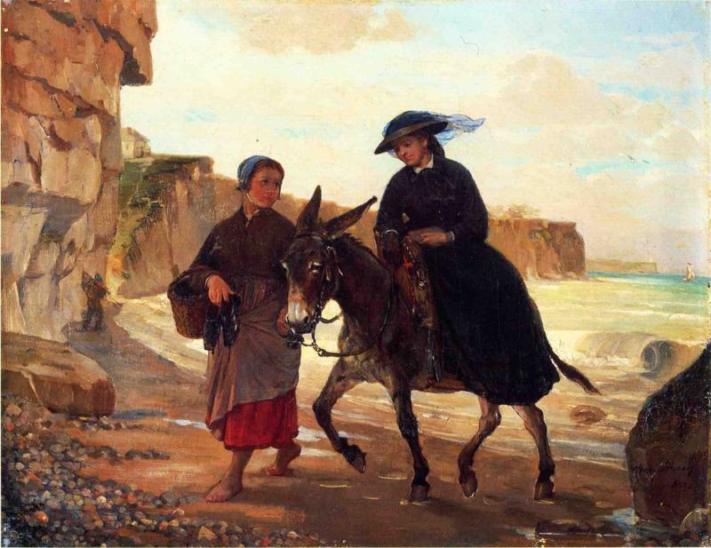 The Tourist and the Fisherwoman