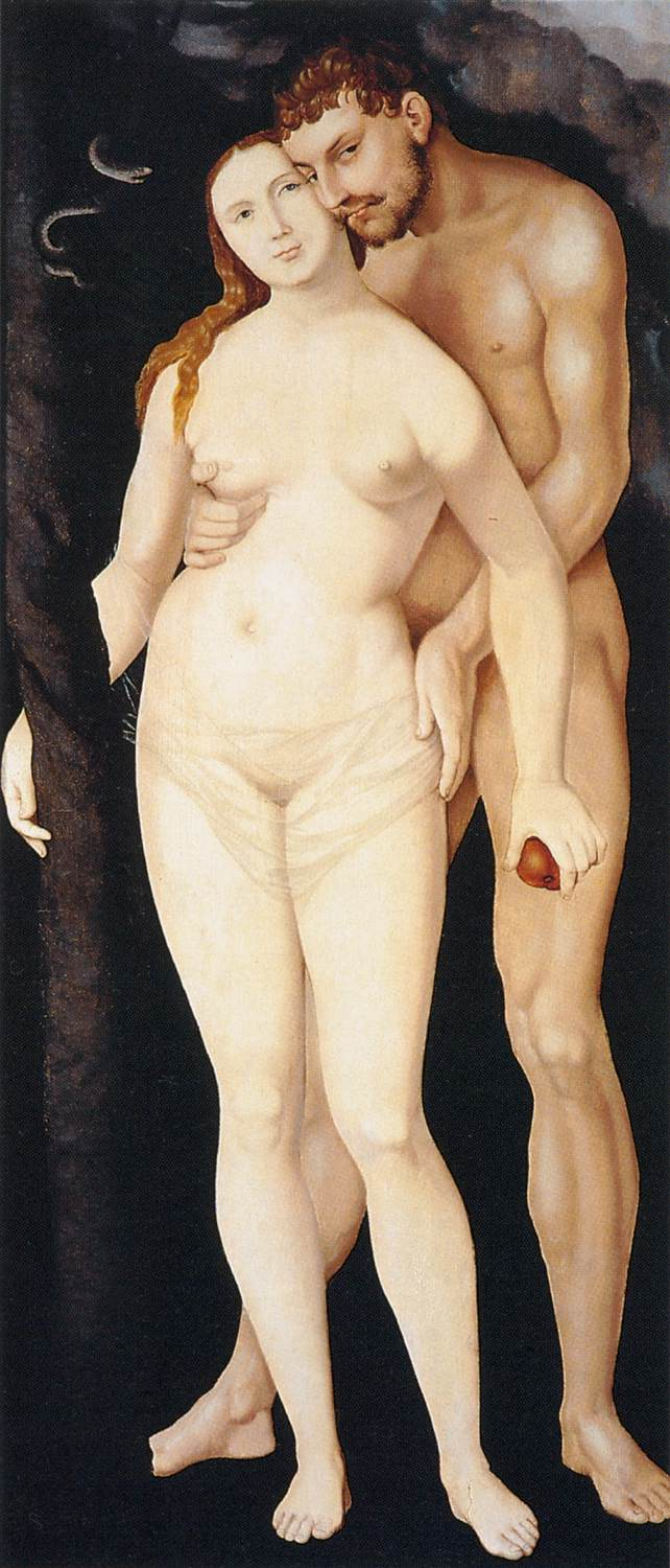 Adam and Eve c