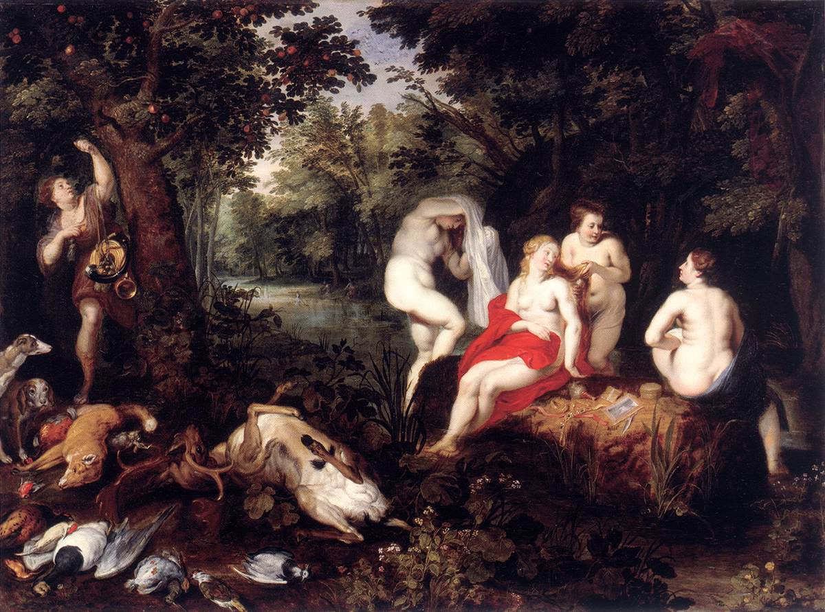 Diana Resting after the Hunt