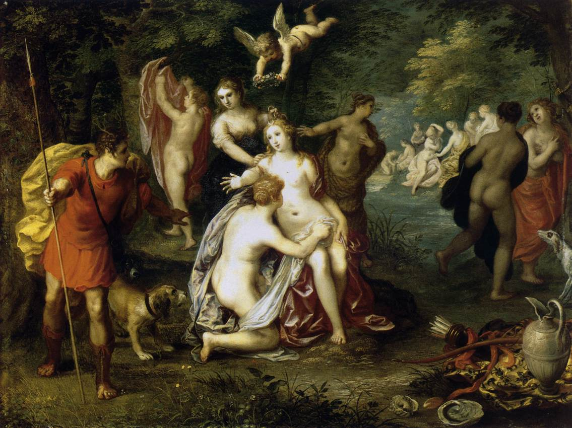 Diana Turns Actaeon into a Stag