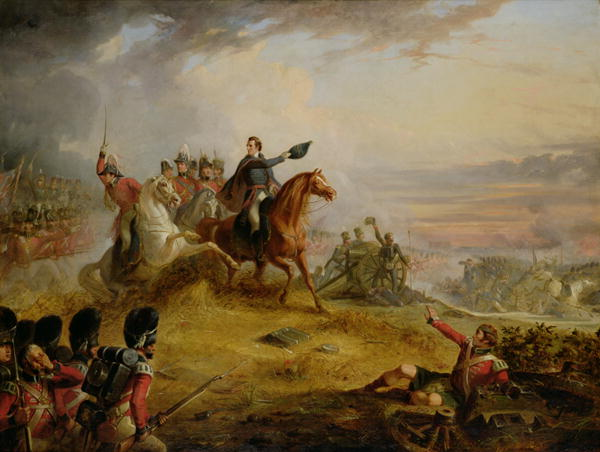 An Incident at the Battle of Waterloo in 1815