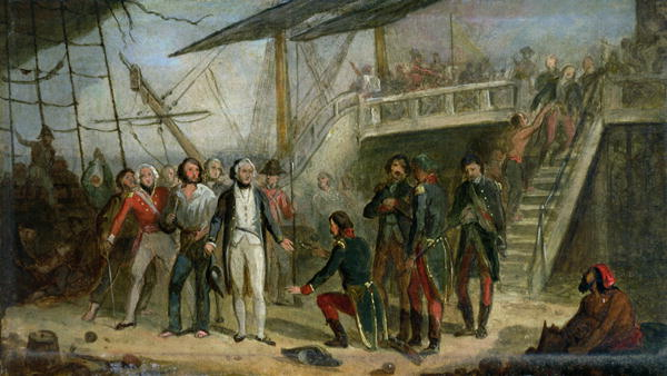 Nelson Boarding the 'San Josef' on 14th February 1797