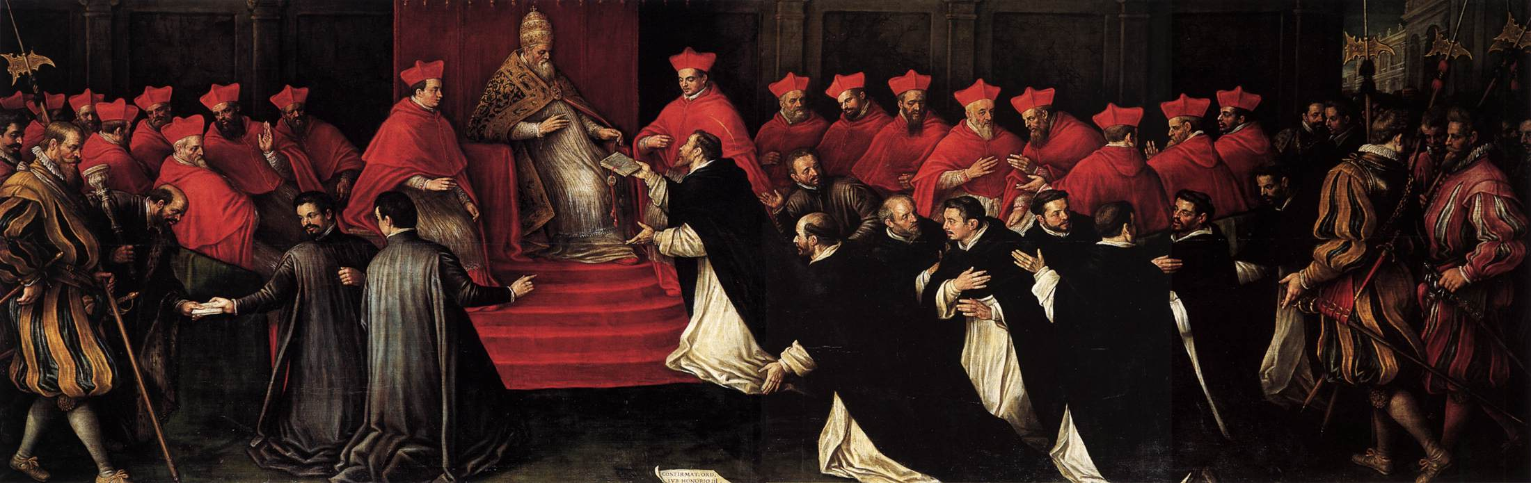 Honorius III Approving the Rule of St Dominic in 1216