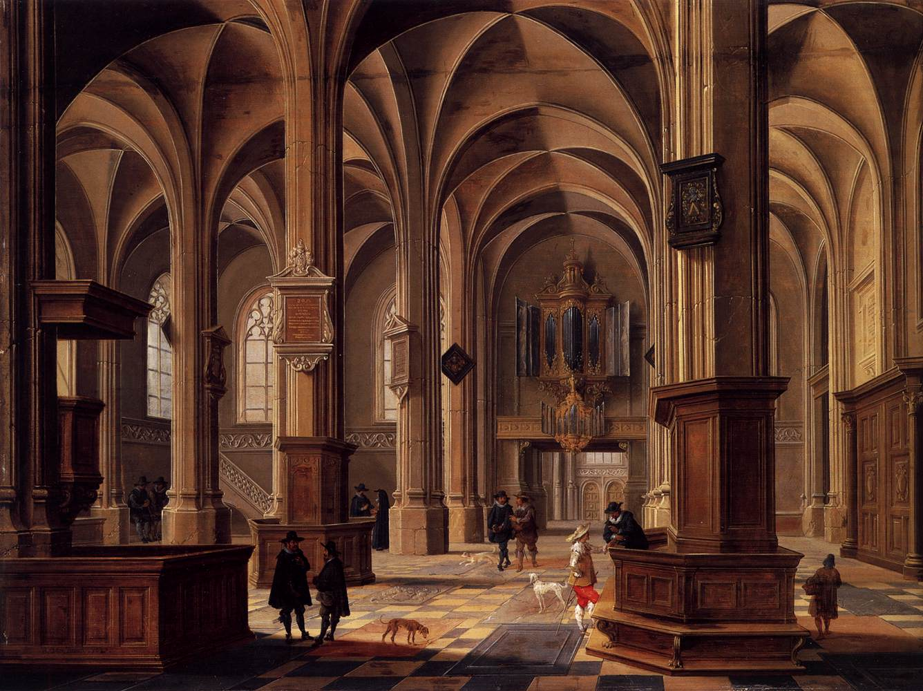 Interior of the Cunerakerk, Rhenen