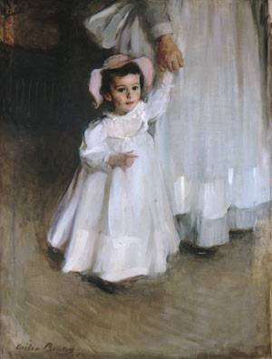 Ernesta (Child with Nurse) 1894
