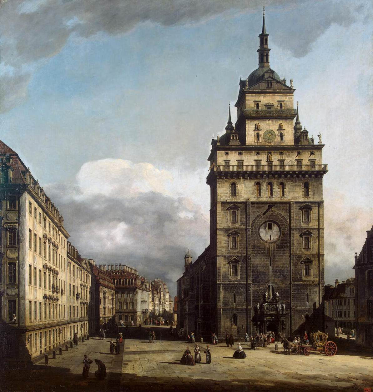 The Kreuzkirche in Dresden