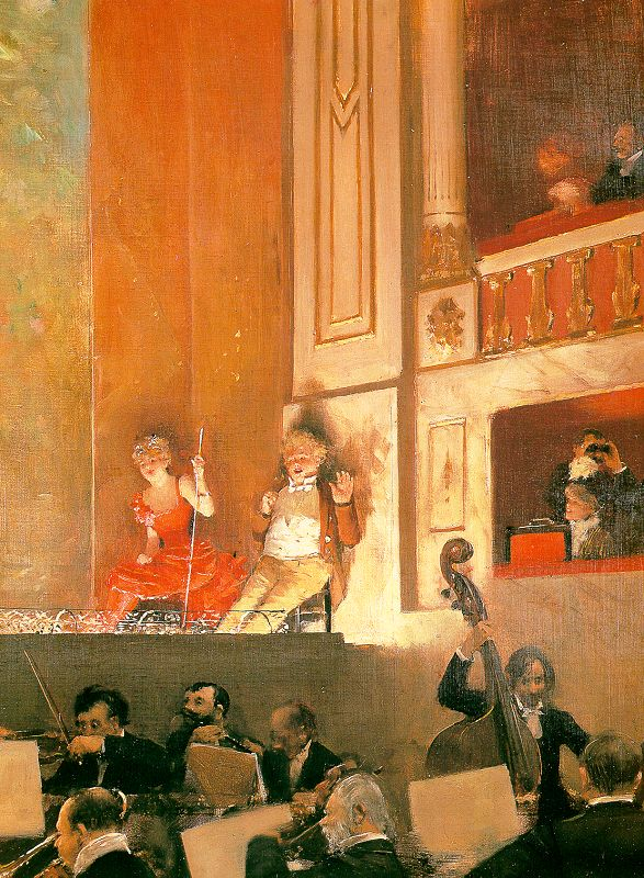 Representation at the Theatre des Varietes 1888