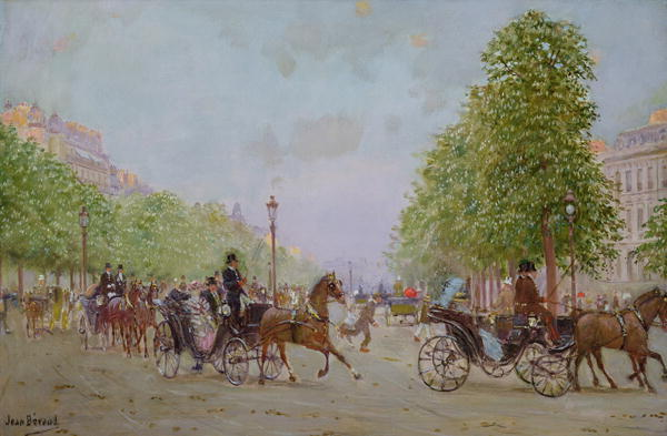 The Promenade on the Champs Elysees