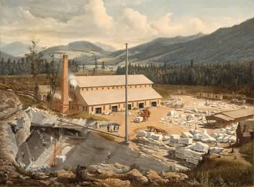 A Marble Quarry 1851