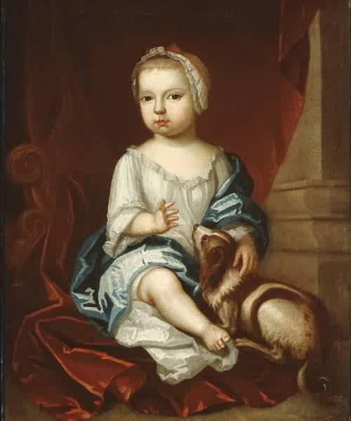 A child of the Pierpont Family 1730s