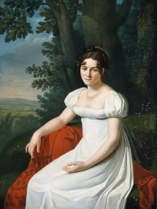 Portrait Of A Woman Early 19th Century From Boston Museum