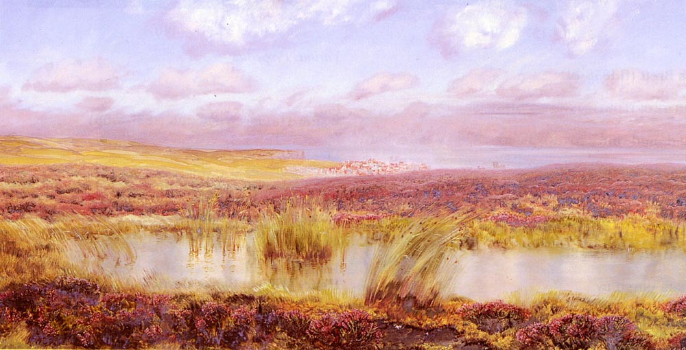 A View Of Whitby From The Moors