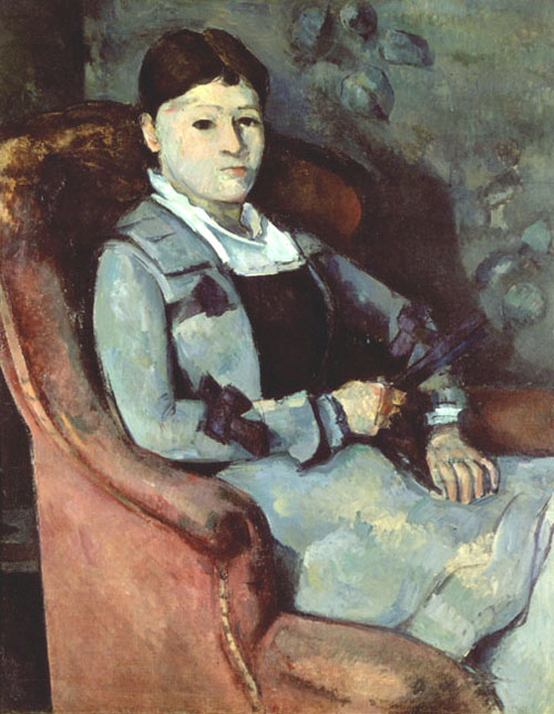 Artist's Wife in an Armchair