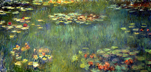 Pool with Waterlilies