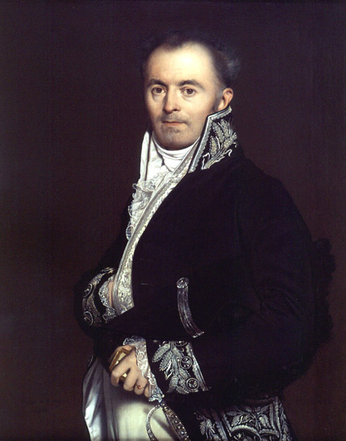 Portrait of Monsieur Devillers