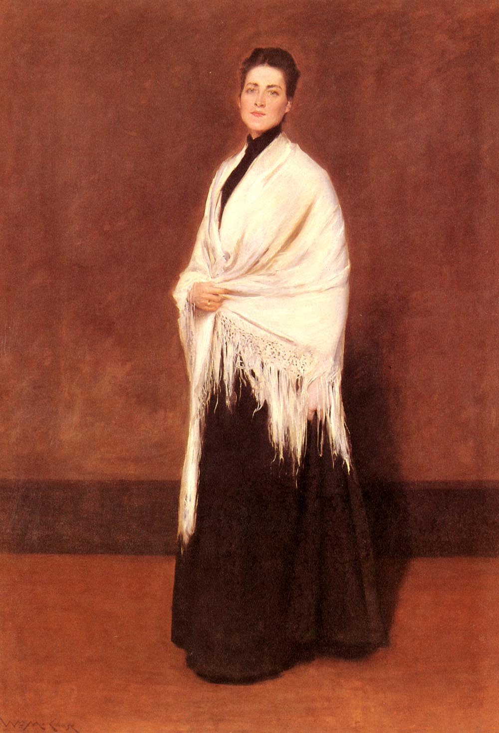 Portrait of Mrs. C. in a Shawl