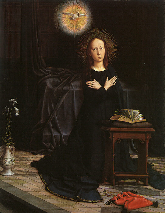 The Virgin of the Annunciation b