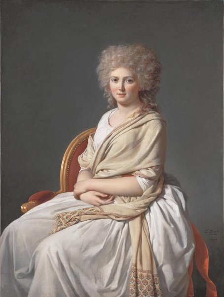 Portrait of Anne-Marie-Louise Thelusson, Comtesse de Sorcy