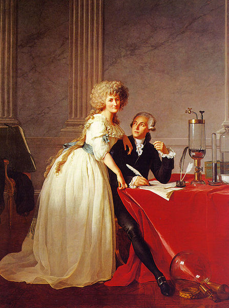 Portrait of Monsieur Lavoisier and His Wife