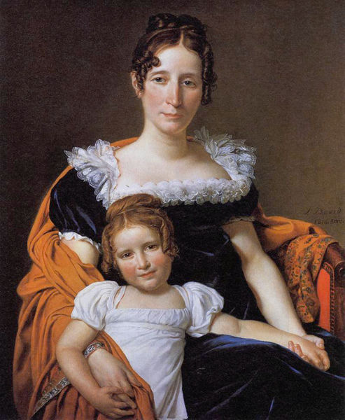 The Comtesse Vilain XIIII and Her Daughter
