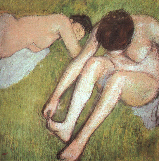 Bathers on the Grass