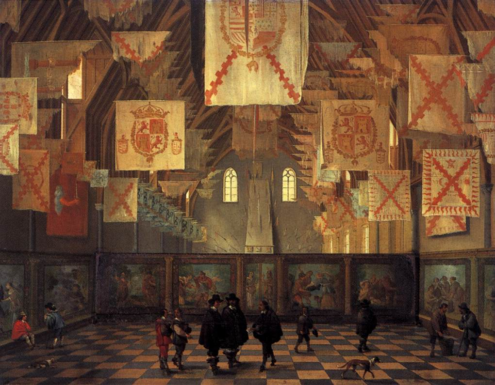 The Great Hall of the Binnenhof in The Hague