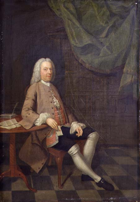 Portrait of John Orlebar 1740