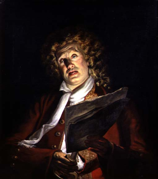 Portrait of an Actor Charles Dibdin
