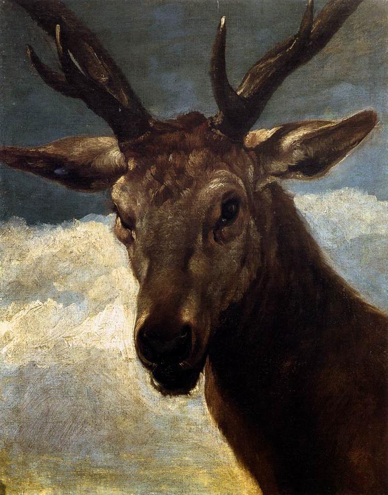 Head of a Stag
