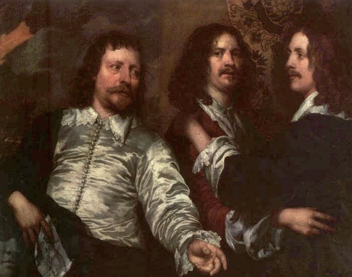 The Painter with Sir Charles Cottrell and Sir Balthasar Gerbier