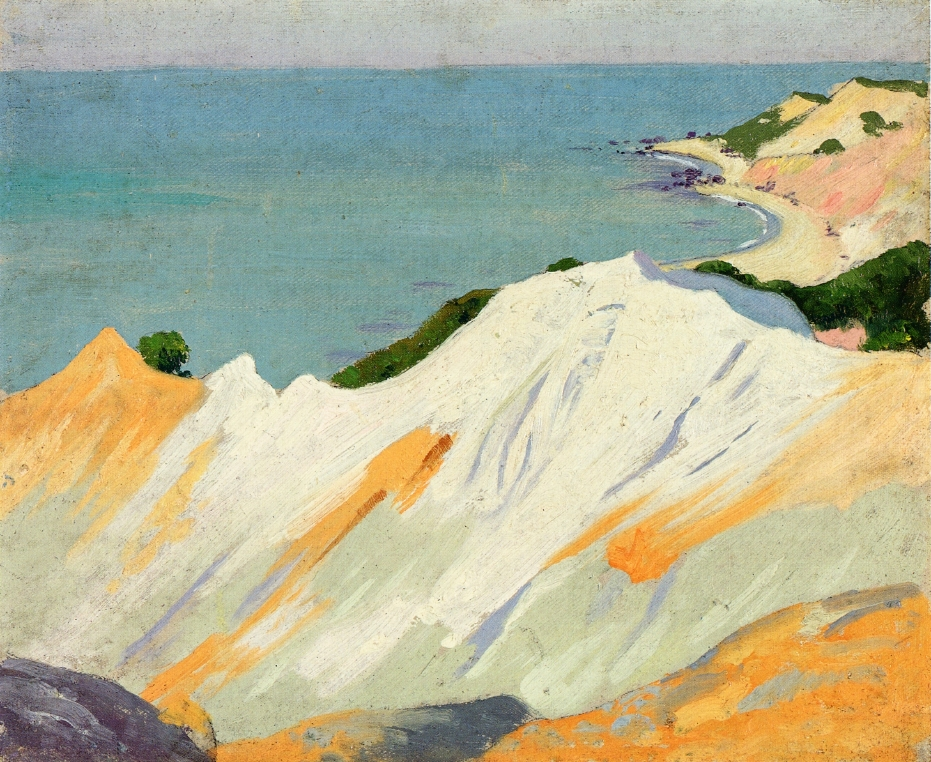 Chalk Hills Gay Head 1915