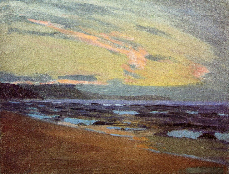 Sunset at Gay Head Marthas Vinyard 1913