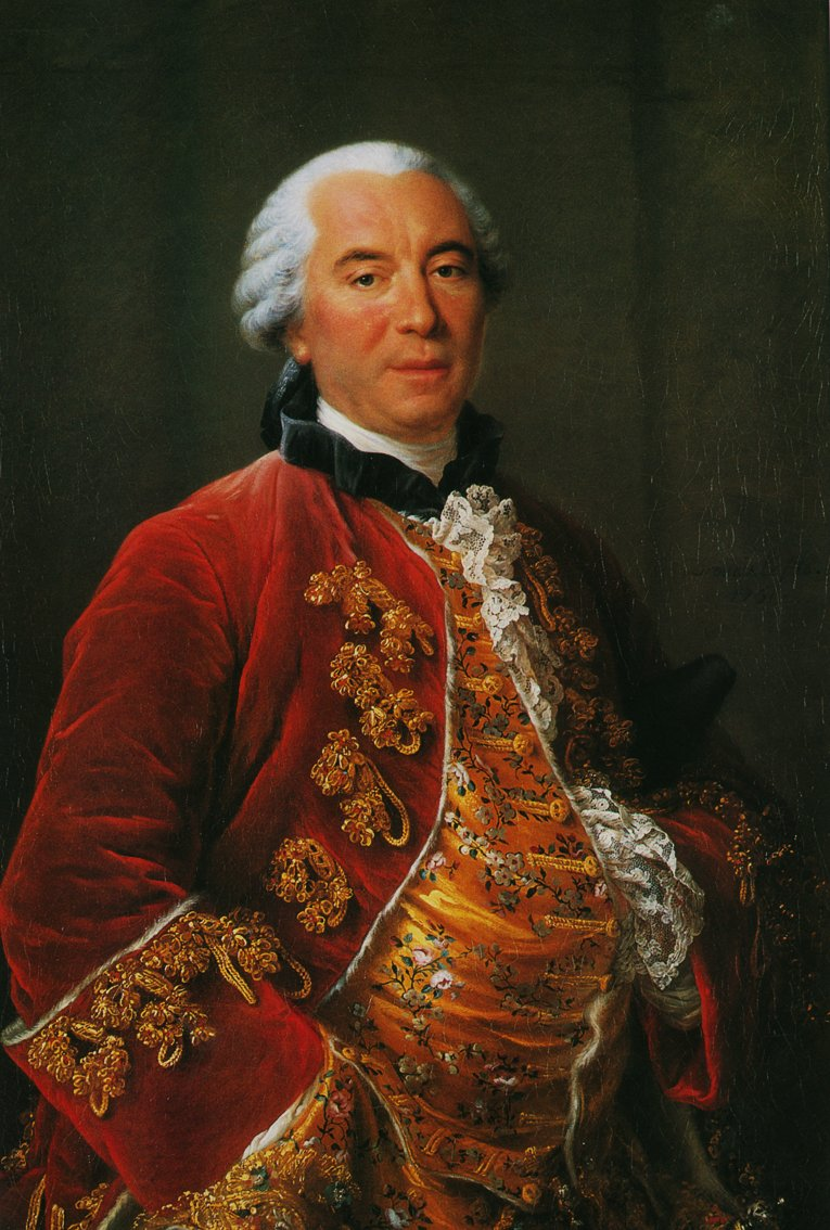 Portrait of Georges-Louis Leclerc
