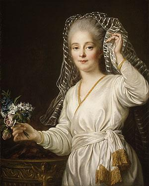 Portrait of a Young Woman as a Vestal Virgin