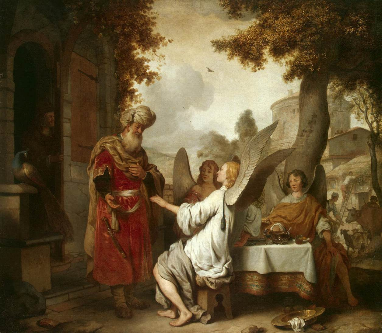 Abraham and the Three Angels