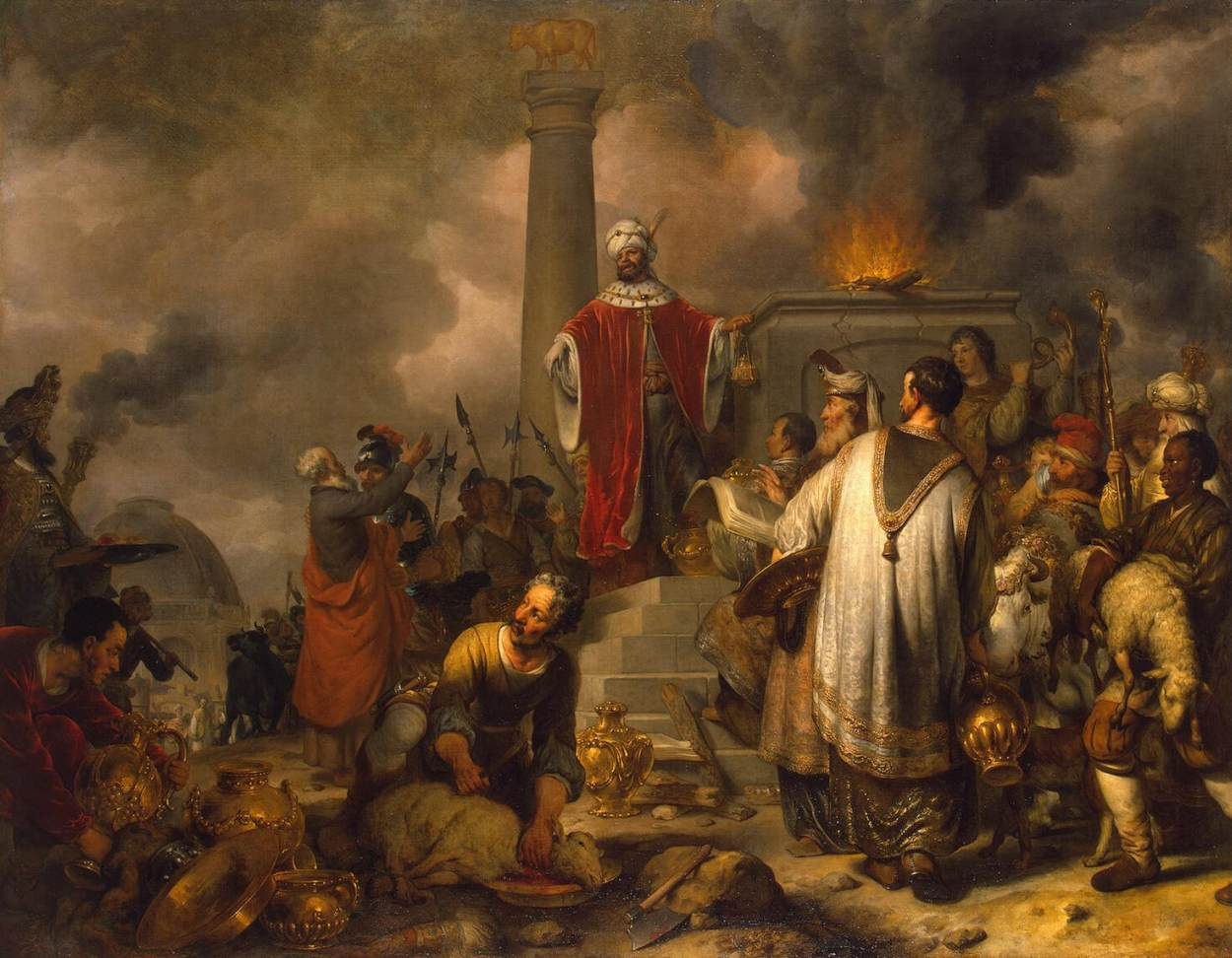 Jeroboam's Sacrifice at Bethel